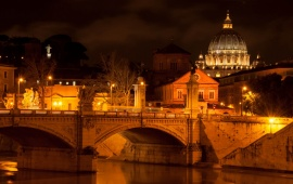 Vatican City Lights