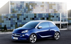 Vauxhall Adam Blue Car