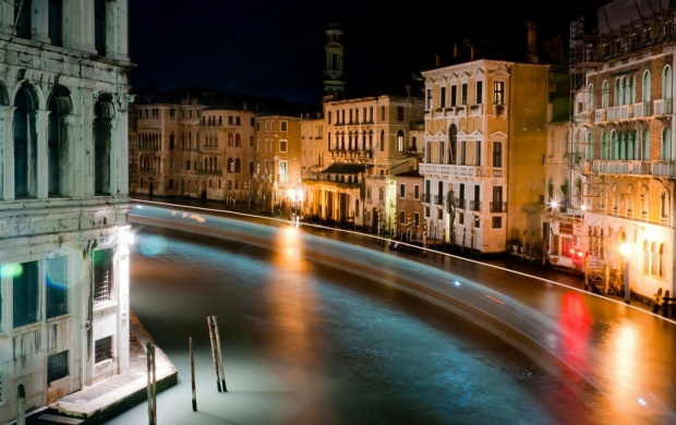 Venice At Night (click to view)