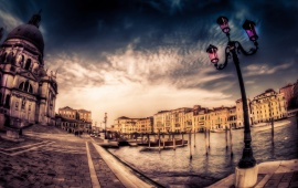 Venice City Background