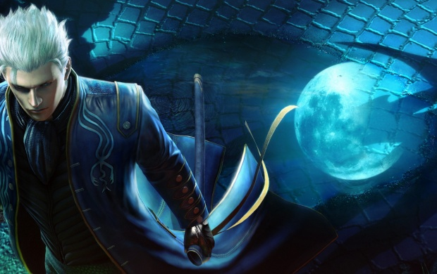 Devil May Cry 4 Wallpaper: Vergil Devil May Cry 4 Special Edition Wallpapers