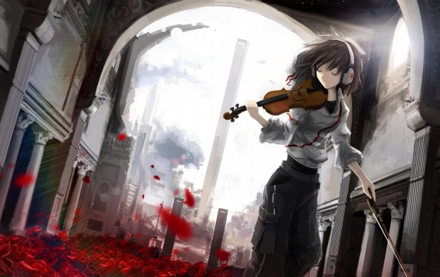 Violinist Anime Girl (click to view)