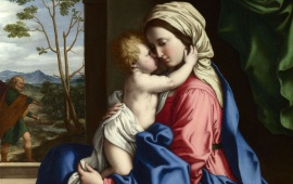 Virgin And Child Embracing