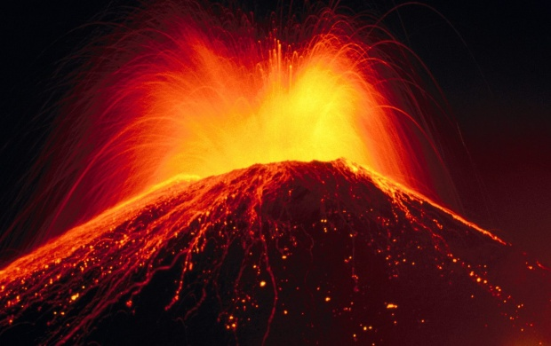 Volcano Eruption (click to view)