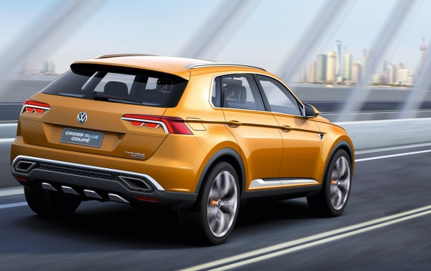 Volkswagen CrossBlue Coupe Concept 2013 (click to view)