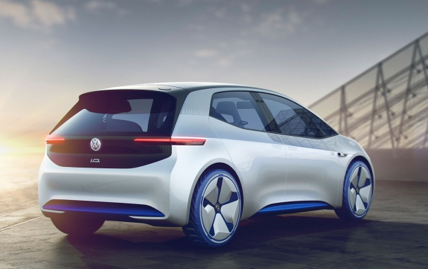 Volkswagen I D Concept Rear Three Quarter (click to view)