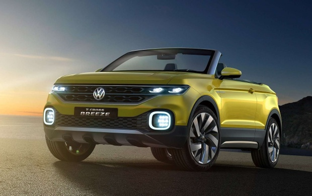 Volkswagen T-Cross Breeze Concept 2016 (click to view)