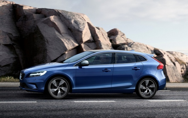 volvo v40 r design 2016 wallpapers. Black Bedroom Furniture Sets. Home Design Ideas