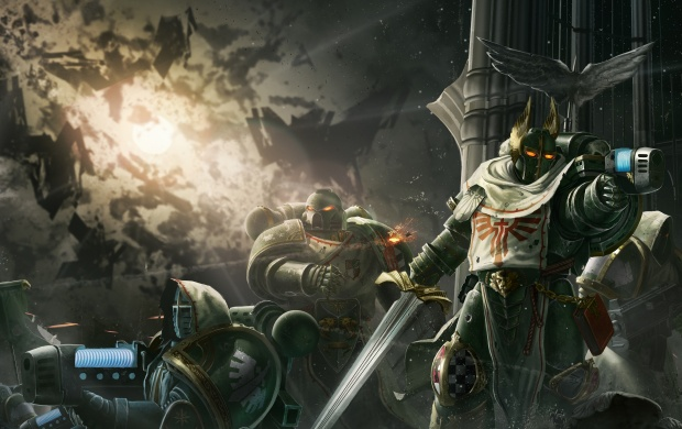 Warhammer 40K Artwork (click to view)