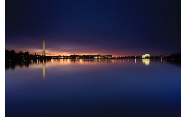 Washington Monument At Night (click to view)