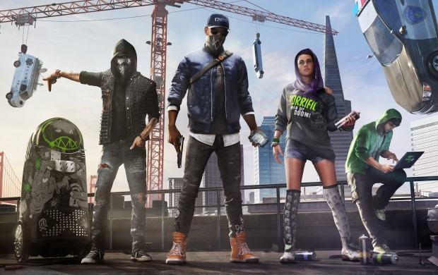 Watch Dogs 2 Family Shot (click to view)