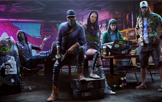 Watch Dogs 2 Hacker Space (click to view)