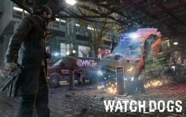 Watch Dogs Game Police Takedown