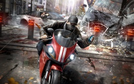 Watch Dogs Motorcycle Chase