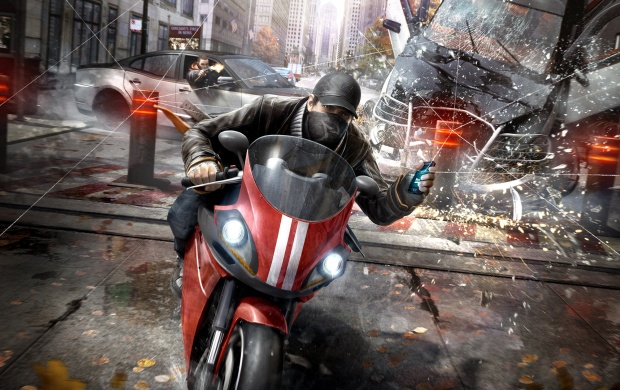 Watch Dogs Motorcycle Chase (click to view)