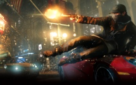 Watch Dogs Screenshots Aiden Car Slide