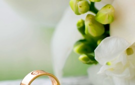 Wedding Rings Flowers