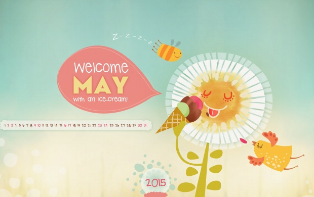 Welcome May With An Ice Cream May 2015 (click to view)