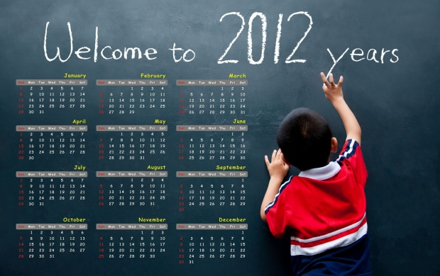 Welcome To 2012 Year (click to view)