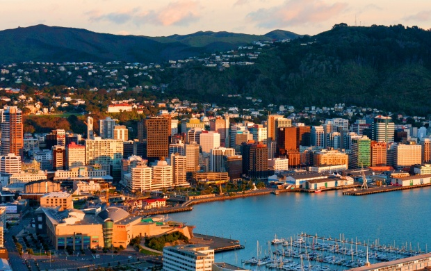 Christchurch Hd: Wellington City New Zealand Wallpapers