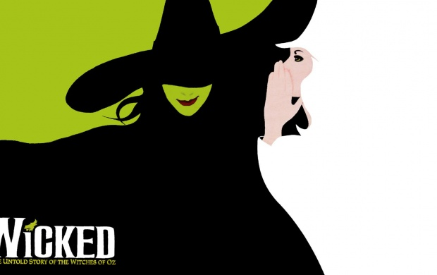 wicked the musical logo wallpapers