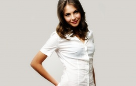 Willa Holland In White