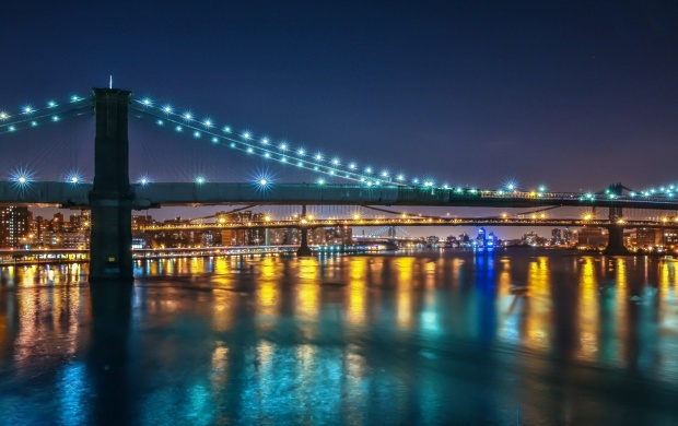 Williamsburg Bridges In New York City (click to view)