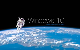Windows 10 Earth