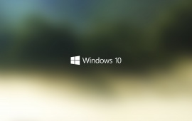 Windows 10 Logo Start