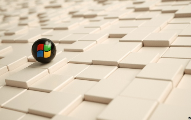 Windows 3D Black Ball (click to view)
