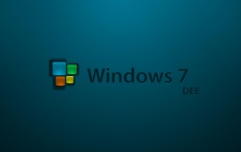 Windows 7 Dee