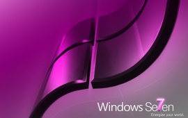 Windows 7 Pink Energize Your World