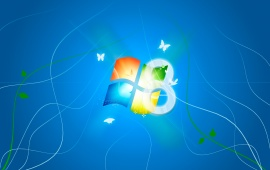 Windows 8 And Butterfly