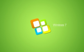 Windows Seven Green