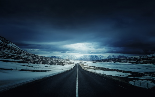 Winter Mountain Road (click to view)