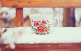 Winter Tea Mug