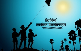 Wish You Happy Uttarayan