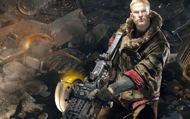 Wolfenstein The New Order B.J. Blazkowicz (click to view)