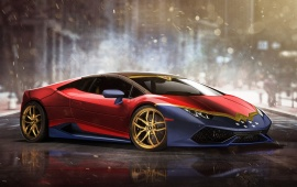 6038 Views Wonder Womans Lamborghini Huracan