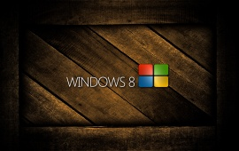 Wooden Box Windows 8