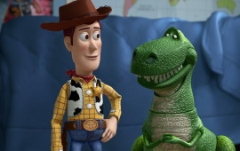 Woody And Rex Talking