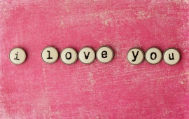 Words Letters I Love You