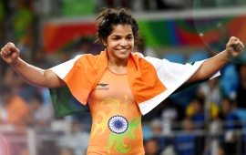World Champion Sakshi Malik