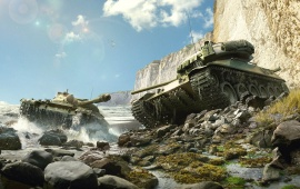 World Of Tanks Waterfall