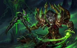 World Of Warcraft Worgen Warlock