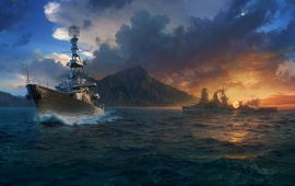 World Of Warships Ocean