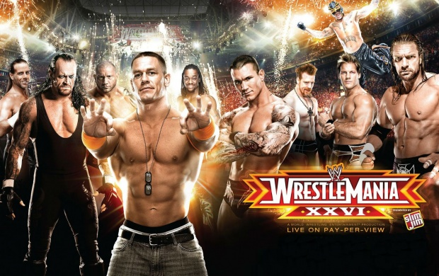 Wrestlemania 26 (click to view)