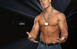 WWE Stars John Cena (click to view)