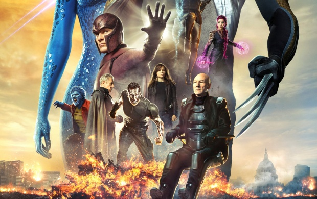 X-Men Days Of Future Past Movie (click to view)