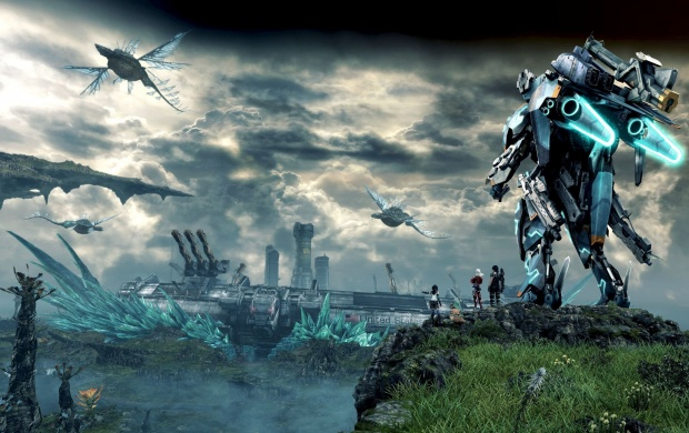 Xenoblade Chronicles X Game 2015 (click to view)